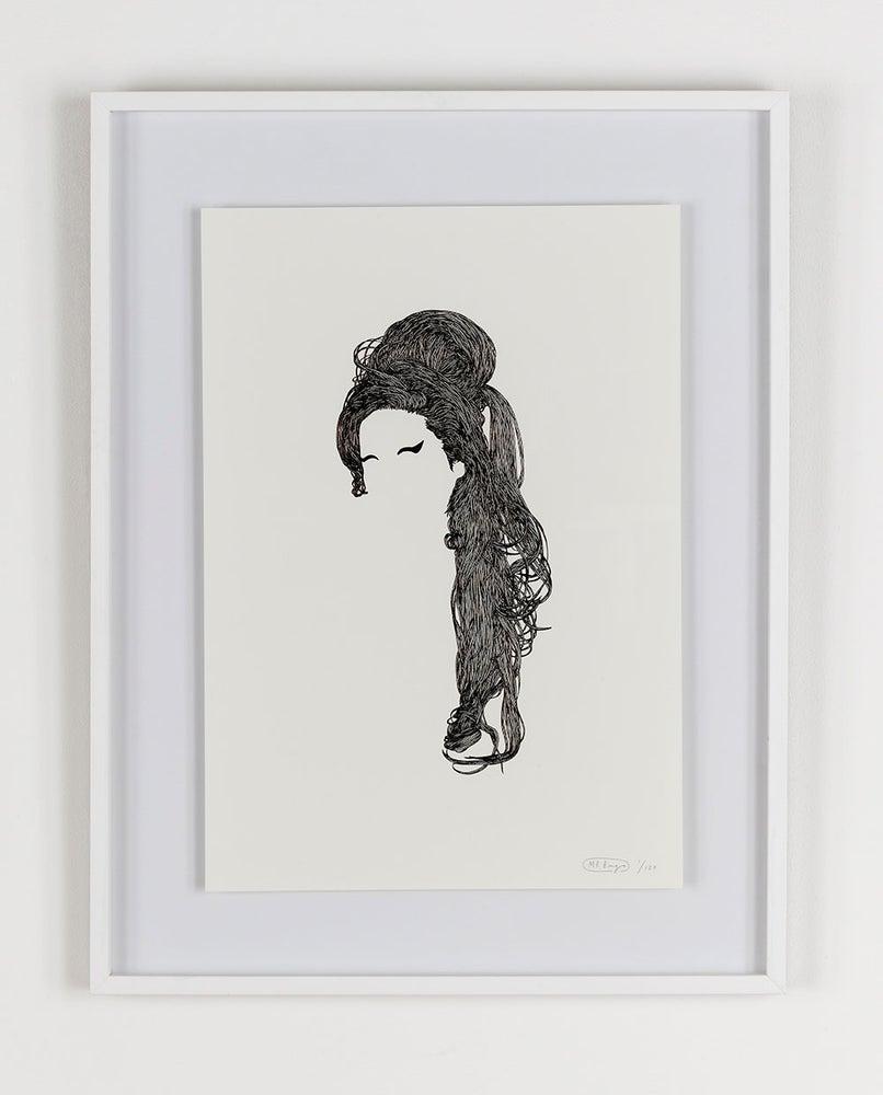 Image of Mr Bingo 'Amy' Foil Edition Print