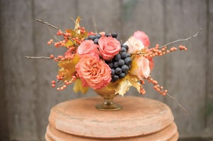 Image of Holiday Floral Centerpiece