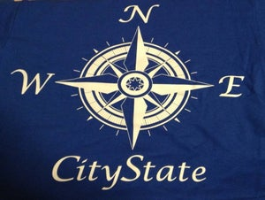 Image of $12 Deal CityState Compass Tee and Anchor EP
