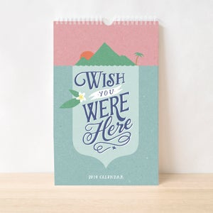 Image of Wish You Were Here - 2014 Charity Calendar