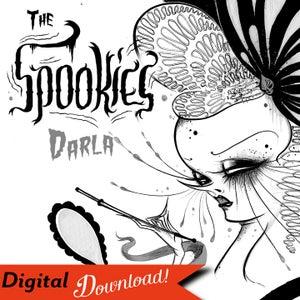 "Image of ""The Spookies: Darla"" Digital Download Design"