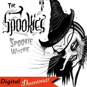 """Image of """"The Spookies: Spookie Witchie"""" Digital Download Design"""