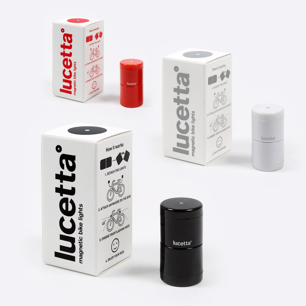 Image of Lucetta ~ Magnetic Bike Lights