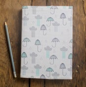 Image of Umbrellas & Rain Clouds Notebooks