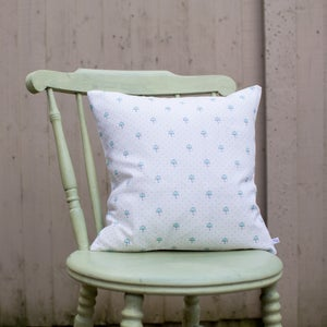 Image of Umbrella Polka Dot Cushion