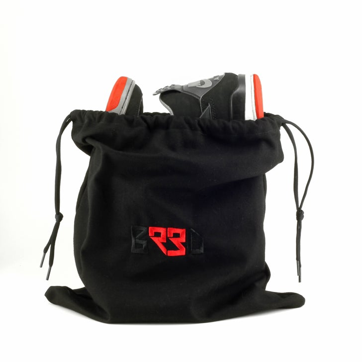"Image of Shoe Bag ""BRED"" - Black"