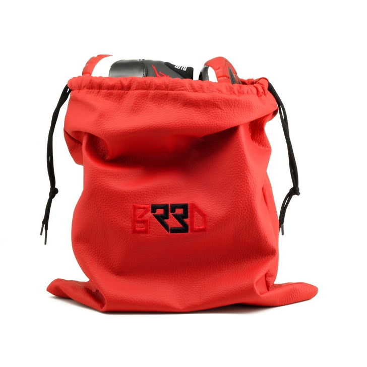 "Image of Shoe Bag ""BRED"" - Red"