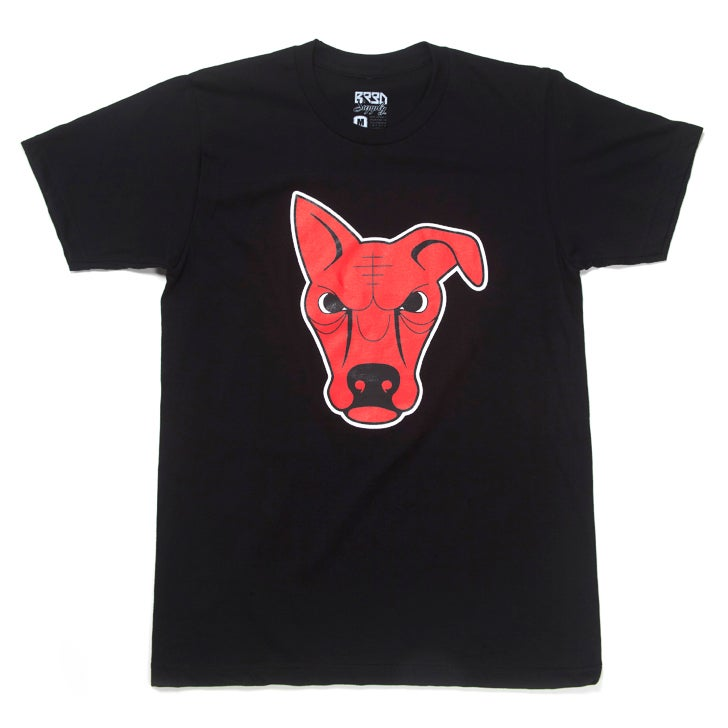 "Image of ""PureBred"" T - Black"