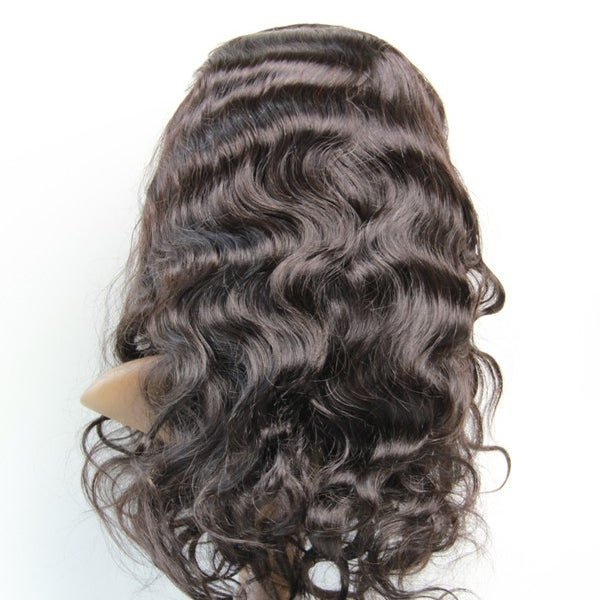 Image of Virgin Brazilian Bodywave Full Lace Wig