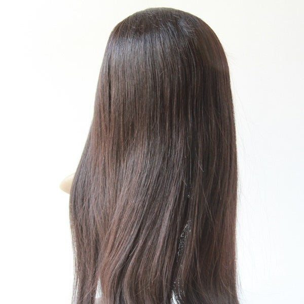 Image of Virgin Brazilian Straight Full Lace Wig