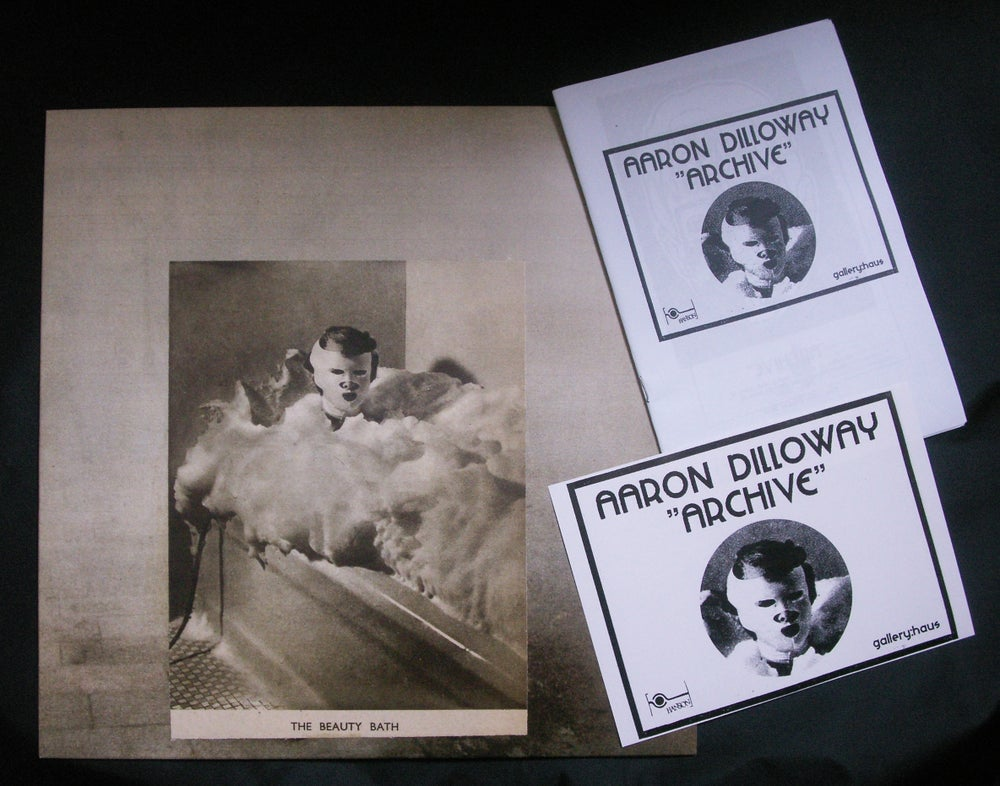 """Image of aaron dilloway """"the beauty bath"""" lp rr-011"""