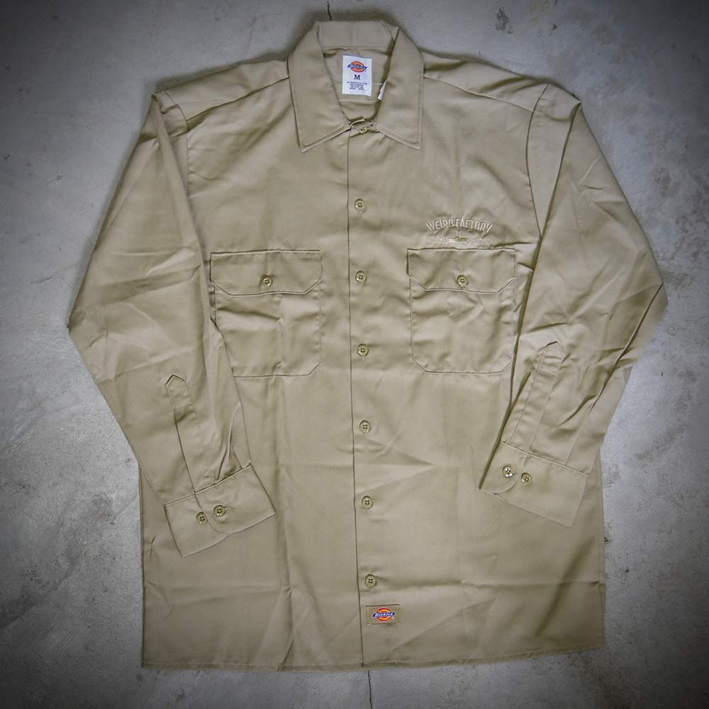 Image of WEIRD X DICKIES SHIRT  574 BROWN