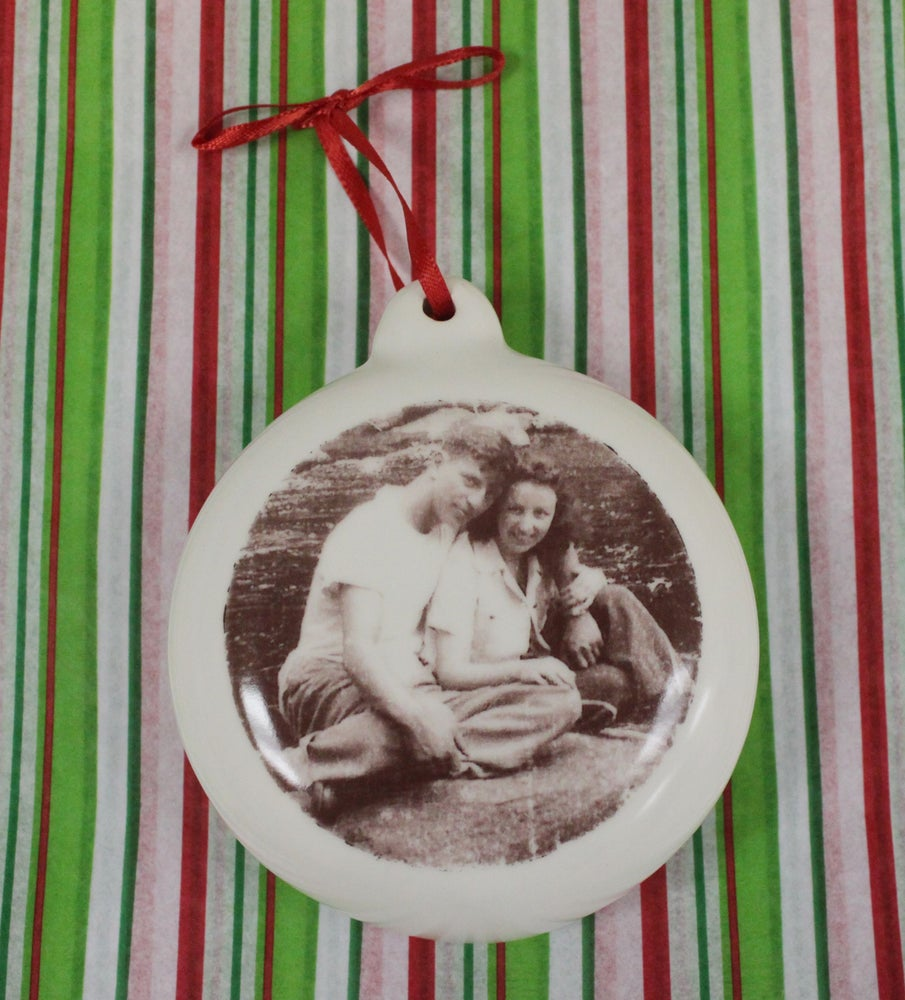 Image of Custom Photo Ornament