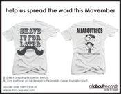 "Image of ""movember"" benefit shirt"