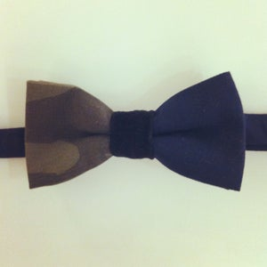 Image of camo ombre bowtie