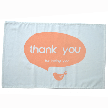Image of 'thank you for being you' tea towel