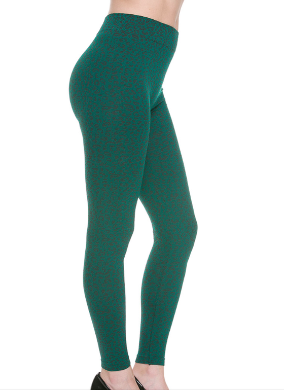 Image of Green Cheetah Legging