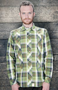 Image of green NAZ SHIRT