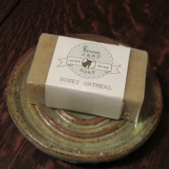 Image of Soap and Soap Dish