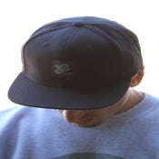 Image of Division East Interlocking Logo Patch Snap Back Hat