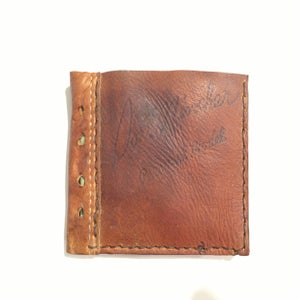 Image of Baseball Wallet Reserved for Pam