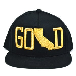 Image of GOLD BLACK SNAPBACK