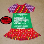 Image of **SOLD OUT**National Lampoon's Christmas Griswold Family Christmas twirl dress - size 11/12