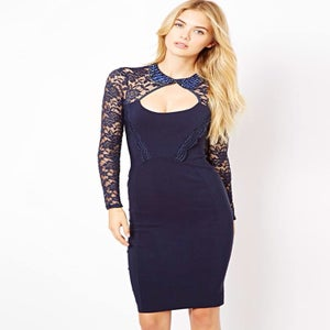 Image of Tempest Navy Dolly Dress