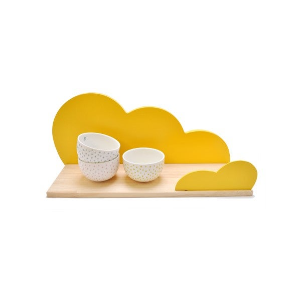 Image of Estantería nube amarilla / Cloud shelf yellow (IVA Incluido)