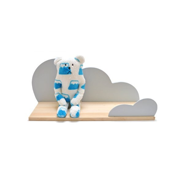 Image of Estantería nube gris / Cloud shelf grey (IVA Incluido)