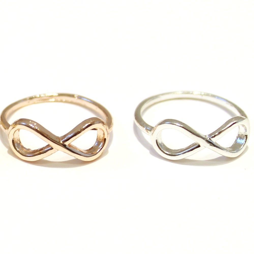 Image of DELICATE INFINITY RING