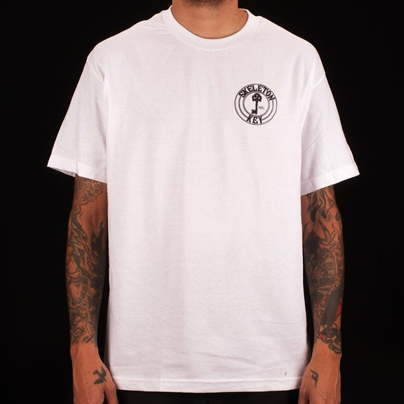 Image of Factory Dot- White S/S T-shirt