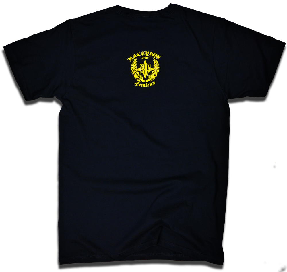 """Image of Mario Lemieux """"66>99"""" tee by Dave Dameshek & Backpage Press"""