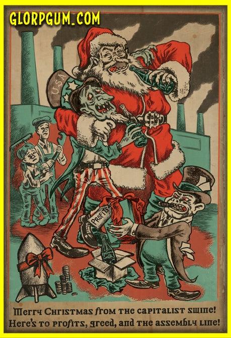 Image of Christmas Swine Holiday Cards