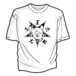 Image of A Sagittariun - Bambi tee-shirt (white)