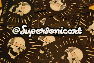 Image of Supersonic Sticker
