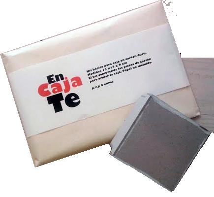 Image of En Caja Te - Box Kit - Kit para realizar cajas de cartón duro