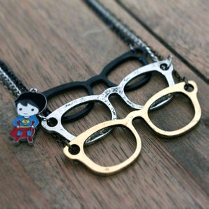Image of The Superman Necklace & Charm