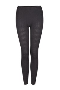 Image of Black knit leggings
