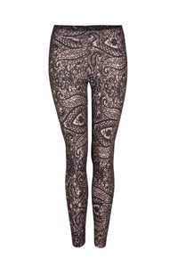 Image of Taupe paisley