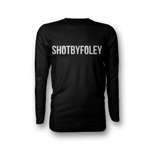 Image of FAMA x ShotByFoley | SBF Logo Long Sleeve