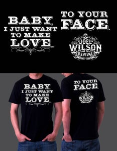"Image of ""Make Love"" T-Shirt"