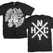 "Image of AWKWARD THOUGHT ""NYHC"" T-Shirt"