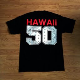 Image of The Hawaii 50 Tee in Black