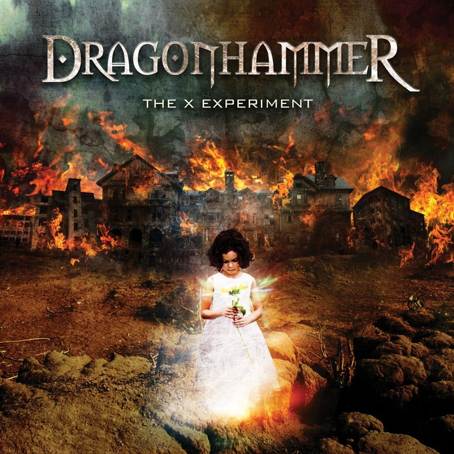 "Image of DRAGONHAMMER ""The X Experiment"" CD"