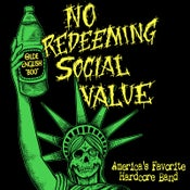 "Image of NO REDEEMING SOCIAL VALUE ""America's Favorite Hardcore Band"" CD"