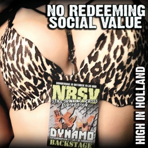 """Image of NO REDEEMING SOCIAL VALUE """"High In Holland"""" CD"""