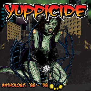 """Image of YUPPICIDE """"Anthology '88-'98"""" Double CD"""