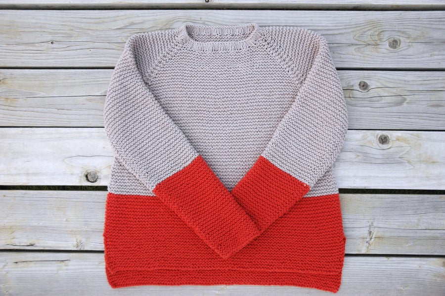 Image of Plowline Raglan Sweater Pattern