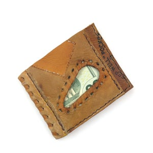 Image of Baseball Glove Wallet Johnny Bench